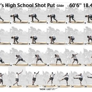 Boy Shot Glide Sequence Sheet