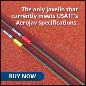 The only javelin that currently meets USATF's Aerojav specifications