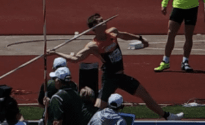 Thomas Rohler Javelin Hip Drive start