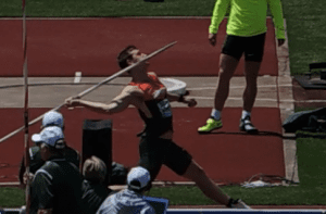 Thomas Rohler Javelin Hip Drive Middle Position